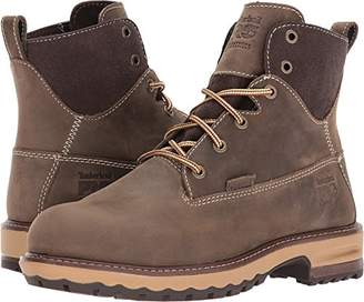 "Timberland Women's Hightower 6"" Alloy Toe Waterproof Industrial and Construction Shoe"