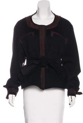 Yang Li Wool-Blend Embellished Jacket