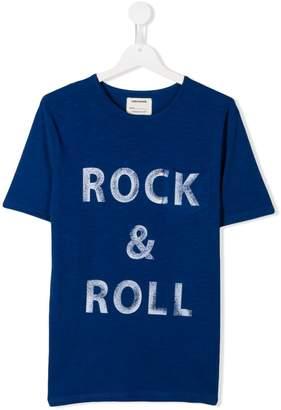 Zadig & Voltaire Kids 'Rock & Roll' T-shirt