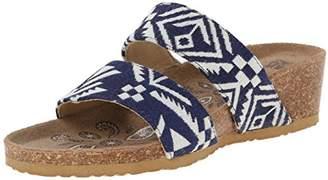 Muk Luks Women's Ava Terra Turf Wedge Sandal