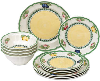 Villeroy & Boch French Garden 12-Pc. Dinnerware Set, Service for 4
