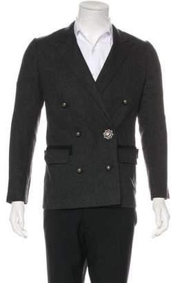 Lanvin Wool Double-Breasted Blazer