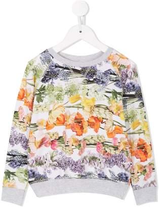Molo Rainbow Bloom sweatshirt
