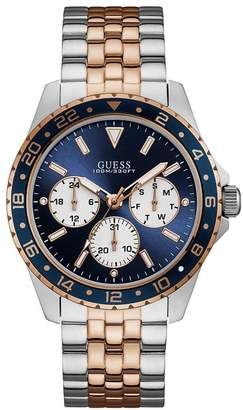 Men's Two Tone Bracelet Watch
