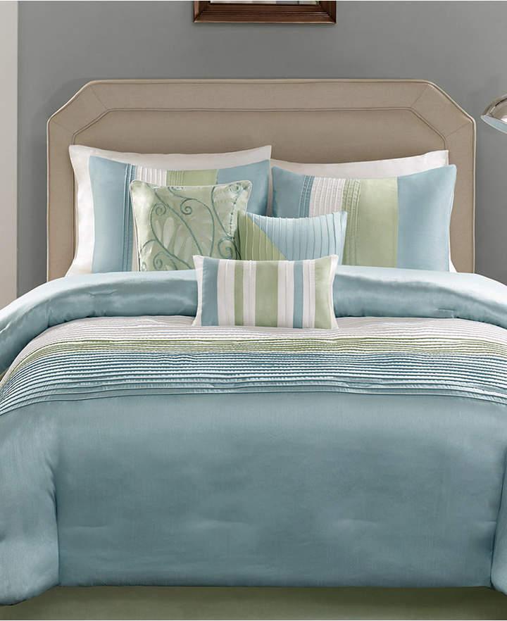 Madison Park Carter 7-Pc. Queen Comforter Set Bedding