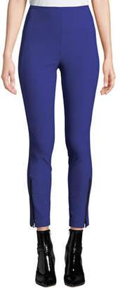 Rag & Bone Simone Skinny High-Rise Pants with Zipper Details