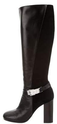 Viktor & Rolf Leather Knee-High Boots