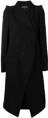 Ann Demeulemeester double-breasted fitted coat
