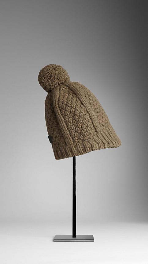 Burberry Wool Cashmere Beanie