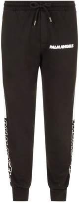 Palm Angels Stripe Detail Sweatpants
