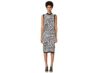 McQ Zebra Tube Dress