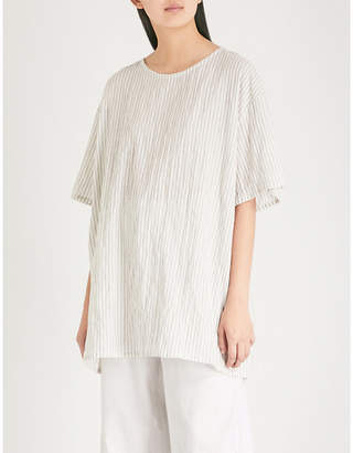 Toogood The Painter striped cotton top