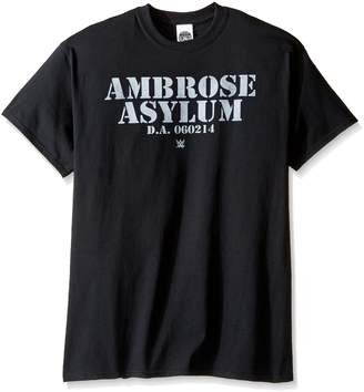 WWE Men's Ambrose Asylum T-Shirt