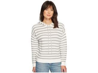 Sanctuary Harlowe Stripe Hoodie Sweater Women's Sweater