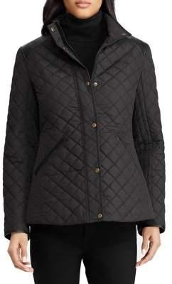 Lauren Ralph Lauren Quilted Snap-Front Jacket