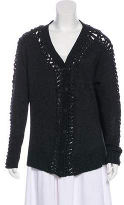 AllSaints Wool & Cashmere-Blend Cardigan