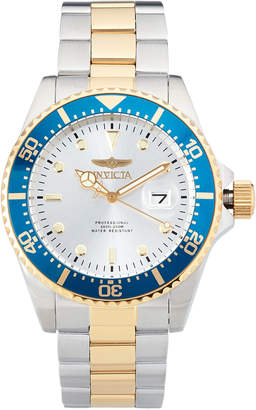 Invicta 22061 Silver-Tone & Blue Pro Diver Watch
