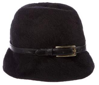 Eugenia Kim Leather-Trimmed Hat