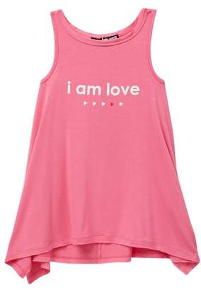 Peace Love World Ashley Graphic Tank (Little Girls)