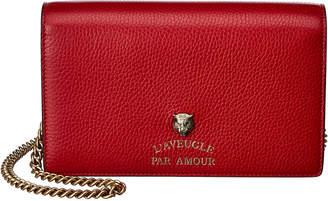 Gucci L'aveugle Par Amour Leather Crossbody