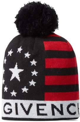 Givenchy USA Knitted Bobble Hat