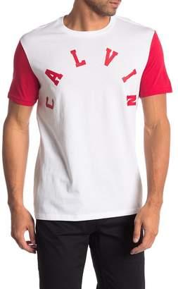 Calvin Klein Jeans College Calvin Crew Neck T-Shirt