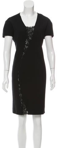 Emilio Pucci Emilio Pucci Embellished Wool Dress