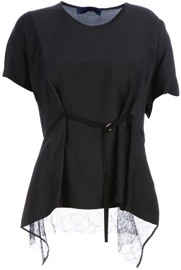 Sharon Wauchob belted shirt