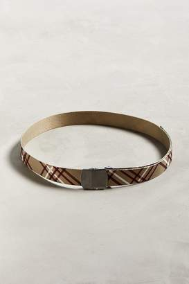 Urban Outfitters Plaid Web Belt