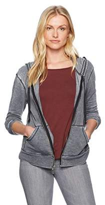 LAmade Women's Burnout French Terry Zingne Hoody