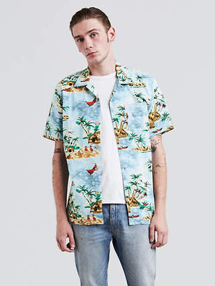 Levi's Short Sleeve Hawaiian Shirt