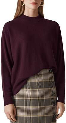 Whistles Dolman-Sleeve Cashmere Sweater
