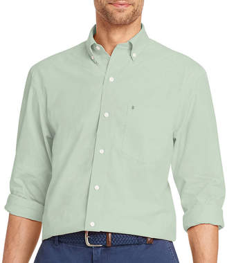 Izod Long Sleeve Premium Essential Button-Front Shirt