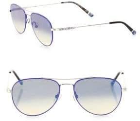 Brera Etnia Barcelona Vintage Sun 56MM Double-Bridged Pear Sunglasses