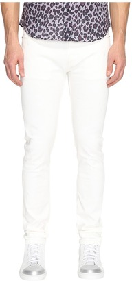 Marc Jacobs - Skinny Leg White on White Jeans Men's Jeans $430 thestylecure.com