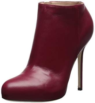 Sergio Rossi Women's Barbie Round Toe Ankle Bootie