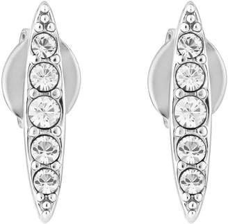Adore Pave Navette Stud Earrings
