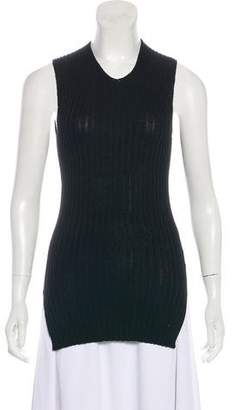 Celine Rib Knit Sleeveless Tunic