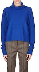 Maison Margiela Women's Cashmere Turtleneck Sweater - Blue
