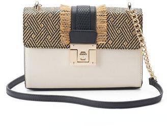 Apt. 9® Jade Straw Crossbody Bag $59 thestylecure.com