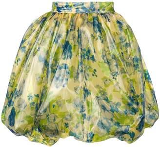 VIVETTA floral print flared skirt