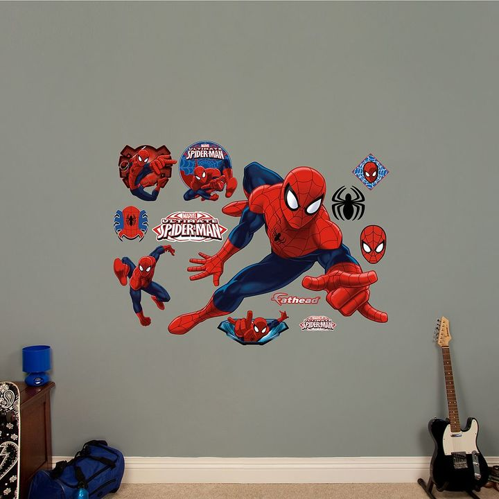 Fathead Marvel Ultimate Spider-Man Wall Decal by Fathead