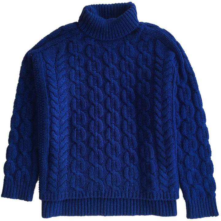IGGY & BURT - Iggy Roll Neck Jumper Blue