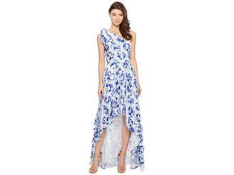 Nicole Miller Fringe Fabulous Cecily High-Low Gown Women's Dress