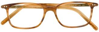 Lunor wood grain print glasses