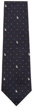 Paul Smith Rabbit and Dotted Silk Tie