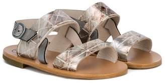 Pépé metallic sandals