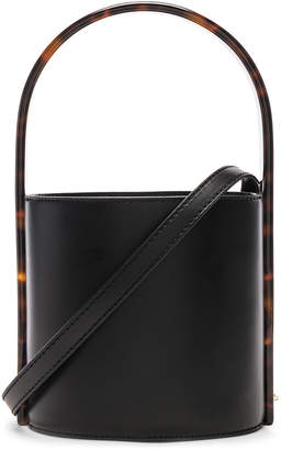STAUD Bissett Bag in Black & Tortoise | FWRD