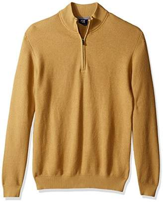 Cutter & Buck Men's Big and Tall Long Sleeve Benson Half-Zip