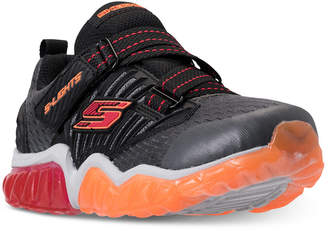 Skechers Little Boys' S Lights: Rapid Flash Light-Up Strap Athletic Sneakers from Finish Line